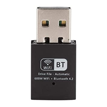 Adaptador USB inalámbrico Tarjeta de Red inalámbrica USB de Doble ...