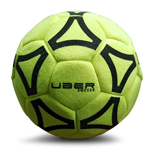 Uber Soccer Indoor Felt Ball - Yellow - Size 4