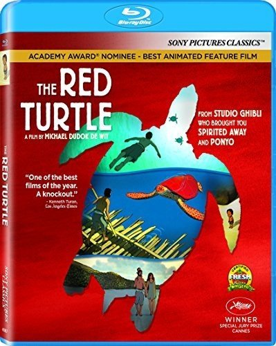 Amazon Com The Red Turtle Blu Ray Michael Dudok De Wit Vincent Maraval Toshio Suzuki Pascal Caucheteux Gregoire Sorlat Prima Linea Productions Why Not Productions Wild Bunch Movies Tv