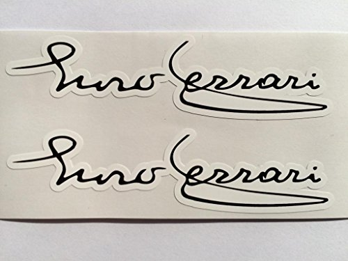 2 Enzo Ferrari Signature Die Cut - Ferrari Signature Enzo