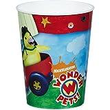 Wonder Pets Plastic Reusable 16 Ounce Cups (4-Pack)
