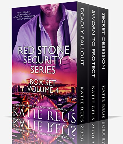 Sexy. Sinful. Suspense. Sparks fly and so do bullets in the USA Today bestselling Red Stone Security Series Box Set: Volume 4 by Katie Reus