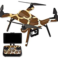 MightySkins Protective Vinyl Skin Decal for 3DR Solo Drone Quadcopter wrap cover sticker skins Giraffe