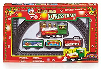 Battery Operated Children\'s Christmas Express Train Set