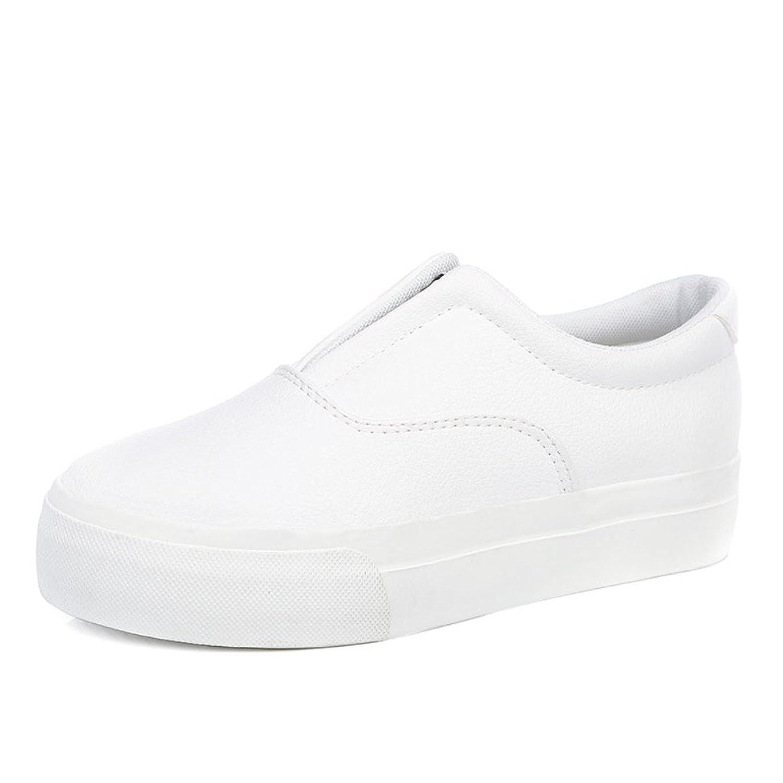 b9dad46e Delicado Zapatos del pudín de espesor piso verano/puZapatos de cuero correa elástico  de la