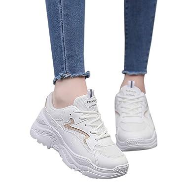 Moserian Damen Sneakers Breathable Sport Laufschuhe