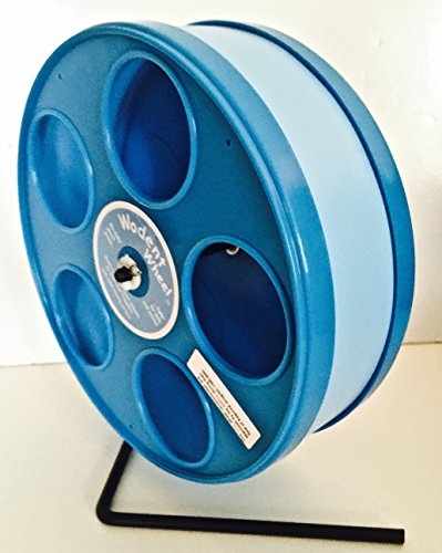 11 inch Wodent Wheel, blue. Pet Rats Love These!