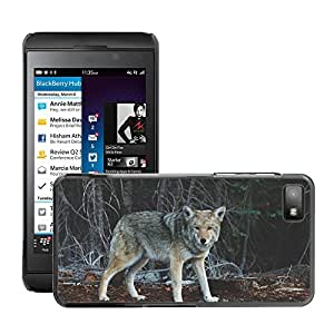 Super Stella Slim PC Hard Case Cover Skin Armor Shell Protection // M00104918 Wolf Animal Wildlife Mammal Predator // BlackBerry Z10