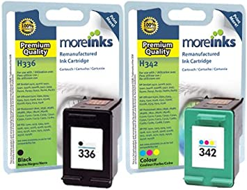 Compatible HP 336 y HP 342 Negro y Color: Amazon.es: Electrónica