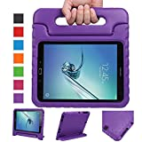 NEWSTYLE Samsung Galaxy Tab S2 9.7 Shockproof Case Light Weight Kids Case Super Protection Cover Handle Stand Case For Kids Children For Galaxy Tab S2 9.7-inch Tablet SM-T810 SM-T815 (Purple)