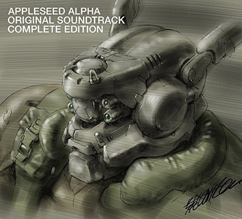APPLESEED ALPHA ORIGINAL SOUND TRACK COMPLETE EDITION(2CD+DVD+GOODS+BOOKLET)(ltd.) by Warner Japan