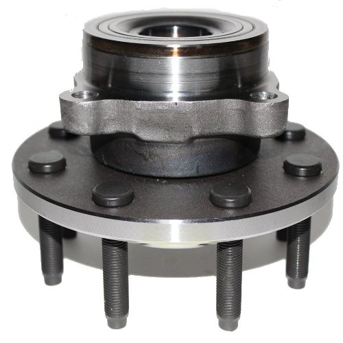 1 Bearing Assembly (Brand New Front Wheel Hub and Bearing Assembly 2000-01 Dodge Ram 2500 4x4 8 Lug W/ 2-Wheel ABS)