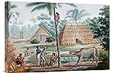 Global Gallery GCS-266167-22-142 ''Louis De Freycinet Timor Island Indonesia'' Gallery Wrap Giclee on Canvas Wall Art Print