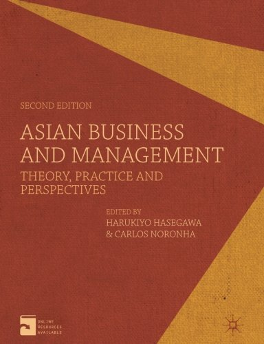 Asian Business and Management: Theory, Practice and Perspectives by Palgrave Macmillan