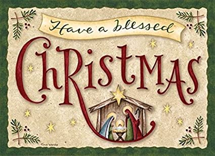 performing arts full color inside have a blessed christmas stationery paper 52638 18 - Have A Blessed Christmas