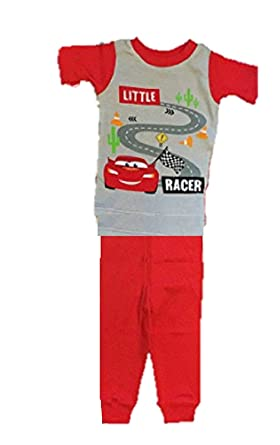 86677a675 Amazon.com  Disney Baby Boys Cars McQueen 2 Pc Cotton Pajama Set ...