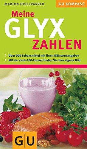 Meine GLYX-Zahlen (GU Diät & Gesundheit)
