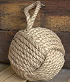 5'' Monkey Fist Nautical Doorstop Rope Sailor Knot