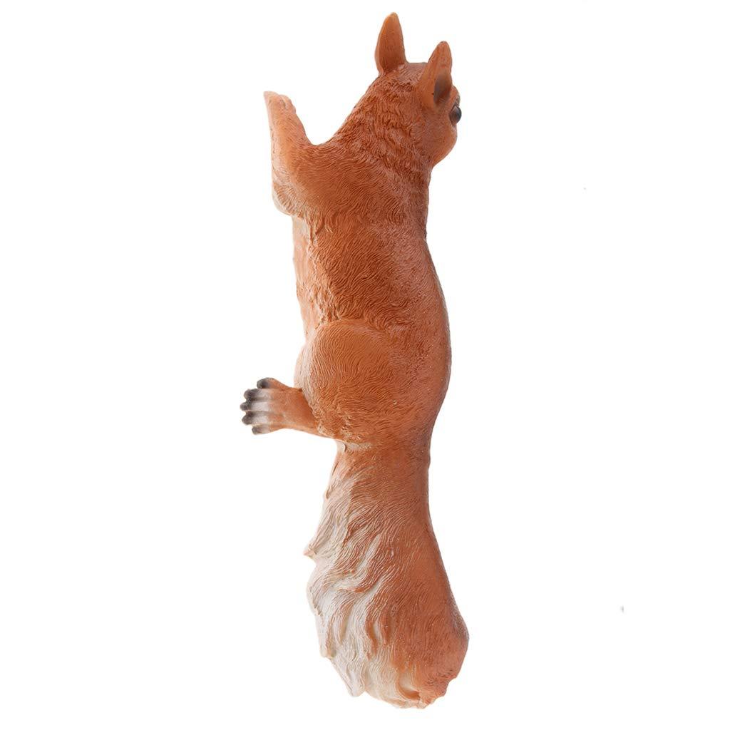 Fenteer /Écureuil en R/ésine Figurine Statue Animal Ornement