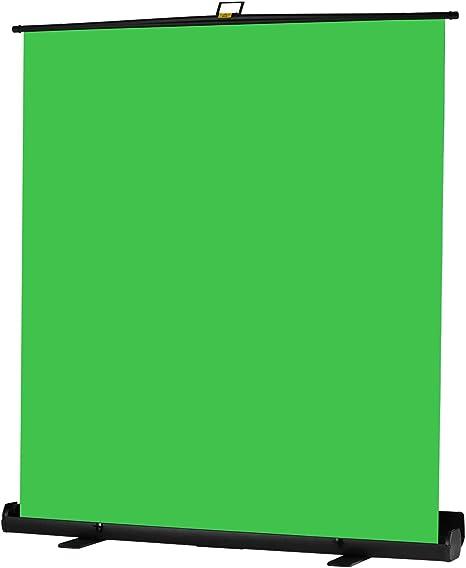 Andoer 200cm Greenscreen-Hintergrund Portable Faltbarer Chromakey-Hintergrund knitterfreier mit automatisch verriegelbarem Rahmen Solides Aluminiumgeh/äuse f/ür Foto//Video//Live-Spiel//virtuelles Studio