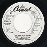 THE BOOGIE BOYS: Party Asteroid (45 RPM 7