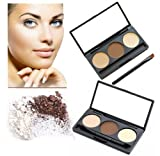 LyDia-Eyebrow-BeigeBrown-Powder-Palette-Cosmetic-Makeup-Shading-Kit-with-Angled-Brush-Mirror-by-LyDia