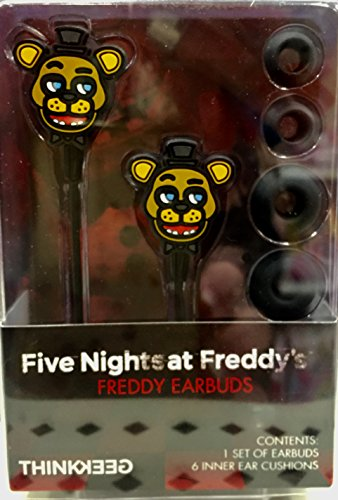 Price comparison product image Five Night's at Freddy's FNAF Freddy Earbuds