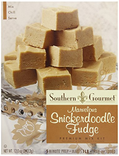 Southern Gourmet Fudge, Snickerdoodle, 12 Ounce