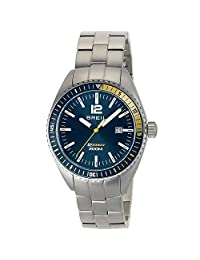 BREIL Watch Midway Male Only Time Blue Stainless steel - TW1630