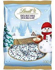 Lindt Holiday Magic Double Milk Chocolate Mini Balls Bag 100g