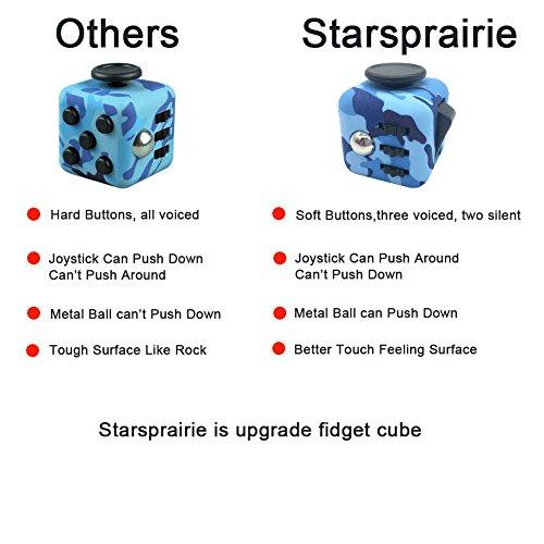 Amazon.com : Starsprairie Upgrade Fidget Cube 2th Cool Office ...