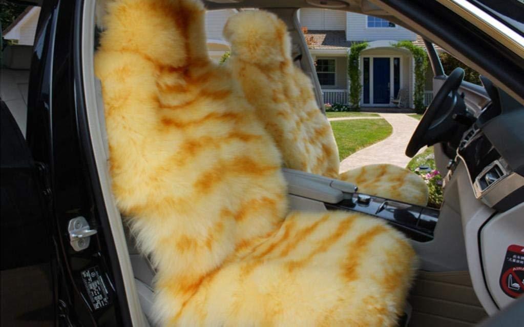 カーカーシートプロテクター用シートカバー カーシートセットピュアウールユニバーサル5ウールクッション四季10色オプション カーシートクッションカーシートマット (色 : #33)