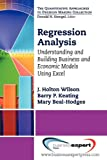Regression Analysis : Understanding and Building Business and Economic Models Using Excel, Wilson and Hodges, 1606494341