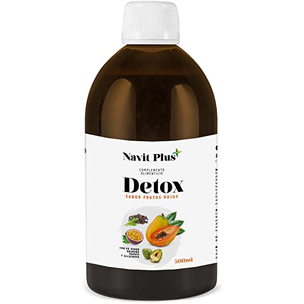 Detox adelgazante | Diurético potente natural líquido 500ml sabor ...