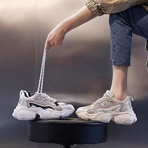 Color Deportivas 6size Zapatos 5 Tamaño Zapatillas Malla Joker Transpirables Zhijinli De Zapatos Casuales Ugw6WqS