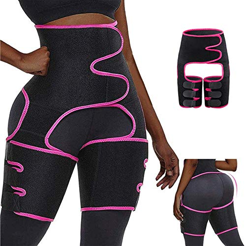MIAODAM 3-in-1 Waist and Thigh Trainer, Adjustable Hip Enhancer Shaper for Women, Waist and Thigh Trainer for Women