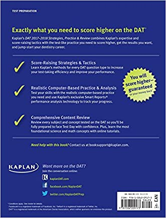 best DAT 2017-2018 Strategies, Practice & Review with 2