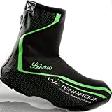 Waterproof Bike Shoe Cover - Bicycle Shoes Protection for Winter Rain and Cold and Water - Overshoes Feet Warmer for Cycling Size 8-9