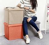 NISUNS OT01 Folding Storage Ottoman Cube Footrest