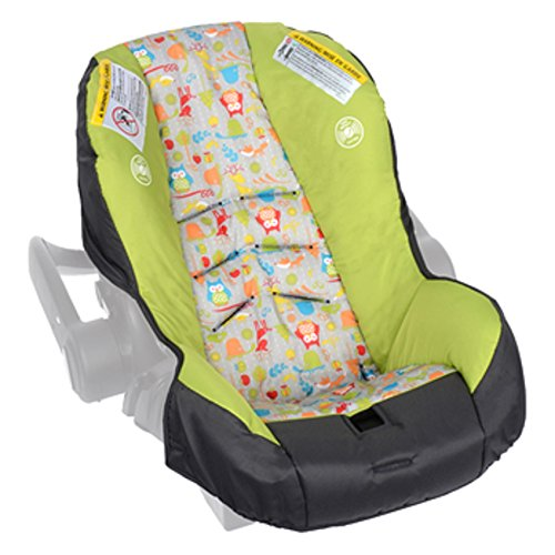 eplacement Pad Cover Cushion for Embrace LX Car Seat 315XXXXX Woodland Buddies by Evenflo