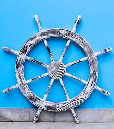 Ships Antique Wheel (36