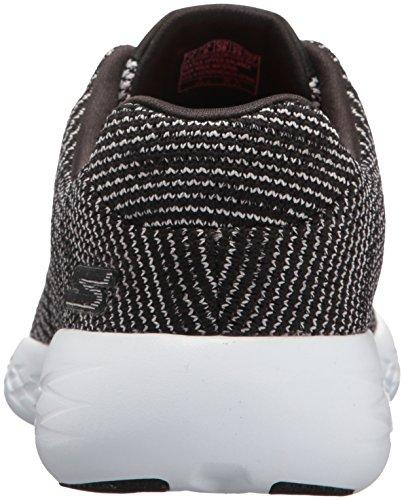 Skechers Womens Go Run 600-get Sneaker Nero / Bianco