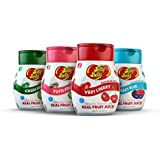 Jelly Belly - Water Enhancer, Variety Pack (4 bottles, Makes 96 Flavored Water drinks) - Sugar Free, Zero Calorie, Naturally Flavored Liquid Drink Mix - Made with Real Fruit Juice
