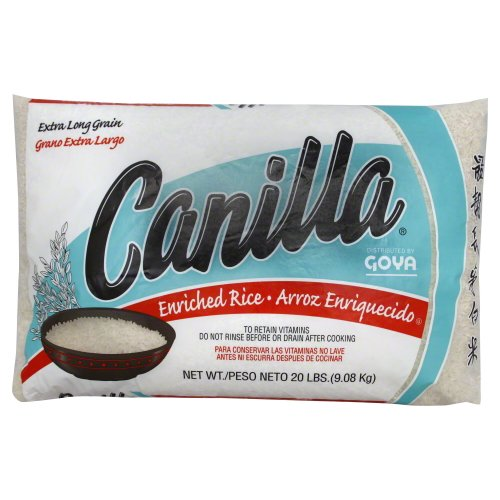 Goya Canilla Long Grain Rice 20.0 LB(Pack of 1) ()