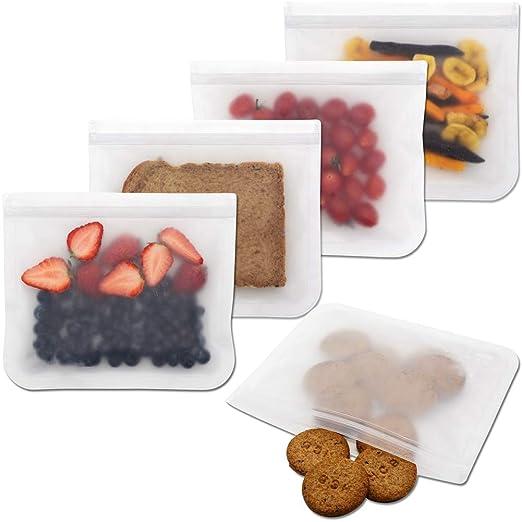 SODIAL Biodegradable Bolsas de Almacenamiento Reutilizables ...