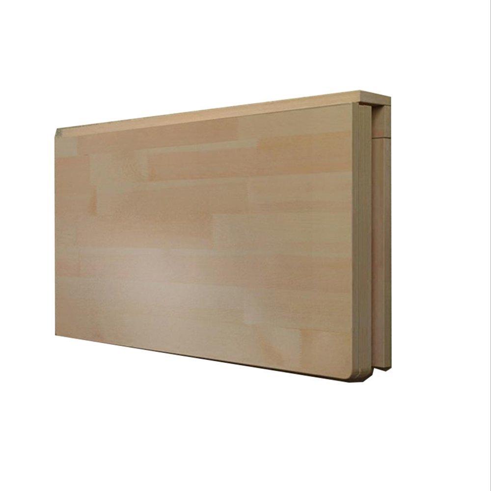 YNN ソリッドウッド壁掛けテーブル折りたたみテーブルコンピュータデスクサイズオプション (サイズ さいず : 80*40cm) B07DS93PB7 80*40cm 80*40cm