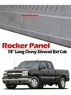 99-06 RIGHT Chevy Silverado GMC Sierra Slip On Rocker Panel Ext Extended Cab RH