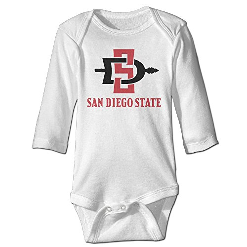 Tara San Diego State University For 6-24 Months Infant Romper Outfits For 6-24 Months 12 Months White - Costume Design Classes San Diego