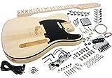 Solo Tele Style DIY Guitar Kit, Basswood Body, Hard Maple Neck 12 String, TCK-12