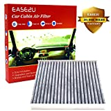 Ease2U Toyota RAV4 Toyota Camry Cabin Air Filter also for Toyota/Lexus / Scion/Subaru / Land Rover/Pontiac/ Toyota, With Activated Carbon, (20,000 Miles and 12 Months Warranty)